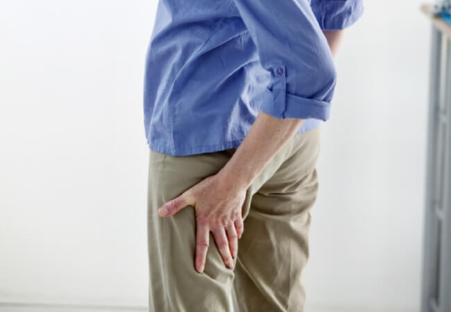 stand up to your sciatica pain